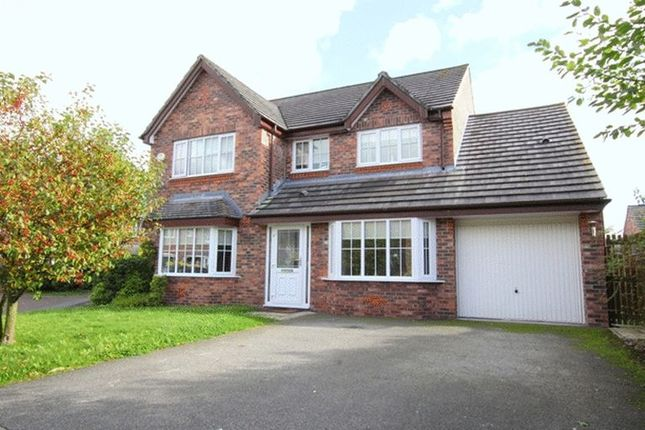 Thumbnail Detached house for sale in Haresfinch Close, Halewood, Liverpool