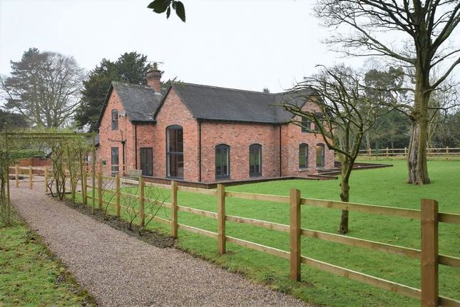 Thumbnail Detached house to rent in Station Road, Barlaston, Stoke-On-Trent