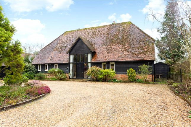 Thumbnail Detached house for sale in Romsey Road, Pitt, Winchester, Hampshire