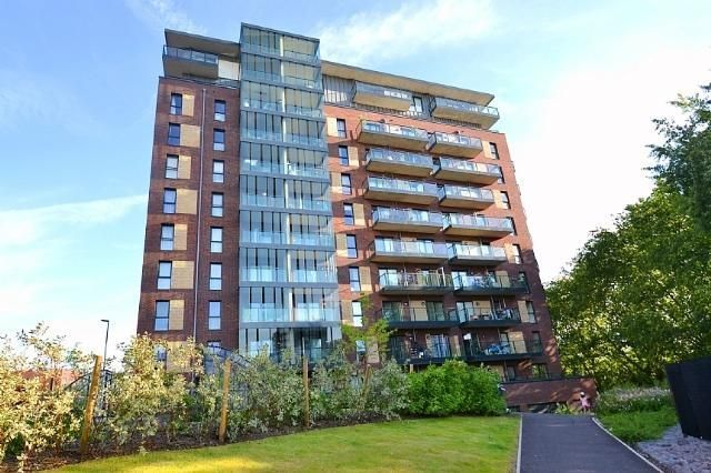 Thumbnail 2 bed flat for sale in Shearwater Drive, London