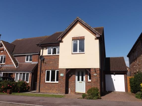 Thumbnail Detached house for sale in Kestrel Way, Sandy, Bedfordshire