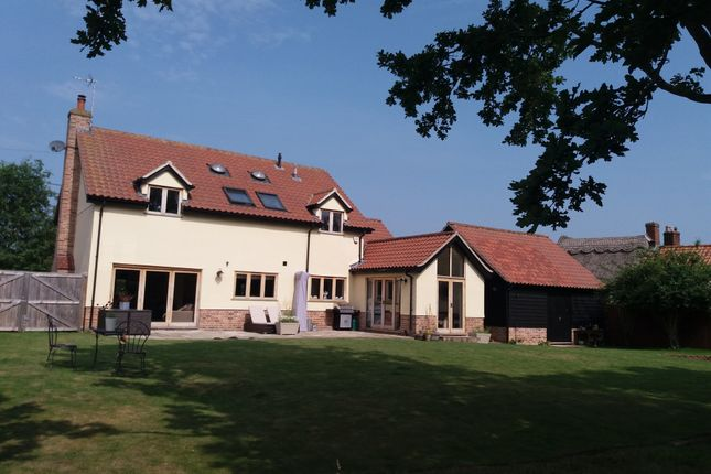Thumbnail Detached house for sale in Gipping Road, Stowupland, Stowmarket