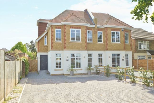 Thumbnail Semi-detached house for sale in Queens Road, Hersham Village, Walton-On-Thames, Surrey