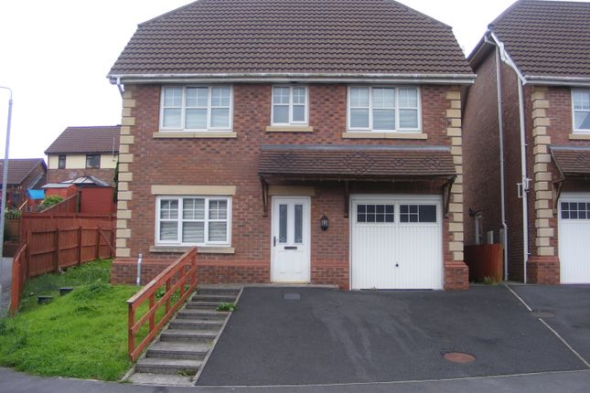 Thumbnail Detached house to rent in Maes Conwy, Llanelli