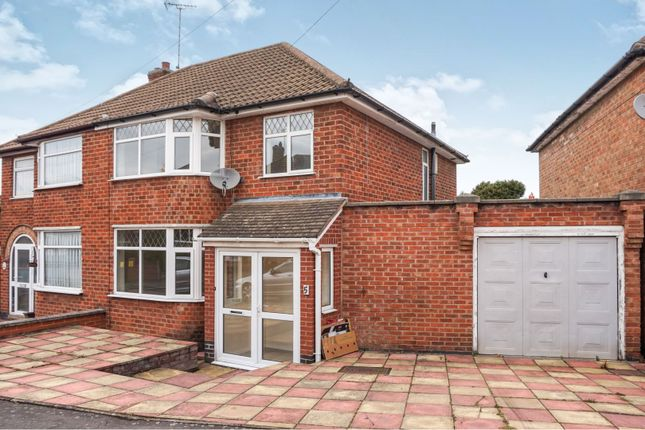 Thumbnail Semi-detached house for sale in Castleford Road, Braunstone Town