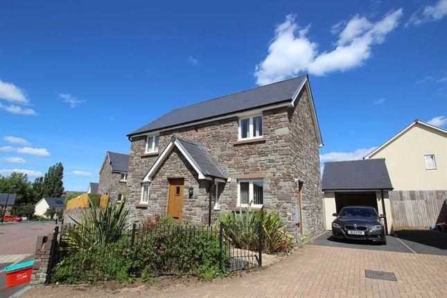 Thumbnail Detached house to rent in St. Davids Park, Llanfaes, Brecon