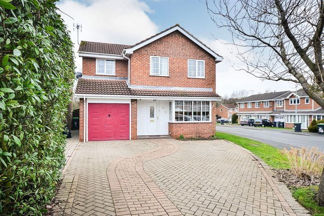 Thumbnail Detached house to rent in Cypress Court, Hucknall, Nottingham