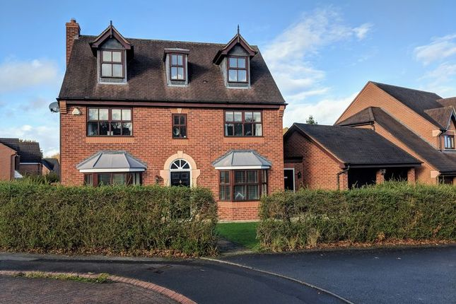 Thumbnail Detached house for sale in Stoneleigh Grove, Muxton, Telford