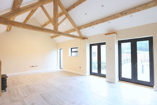 Barn conversion for sale in Moddershall, Stone