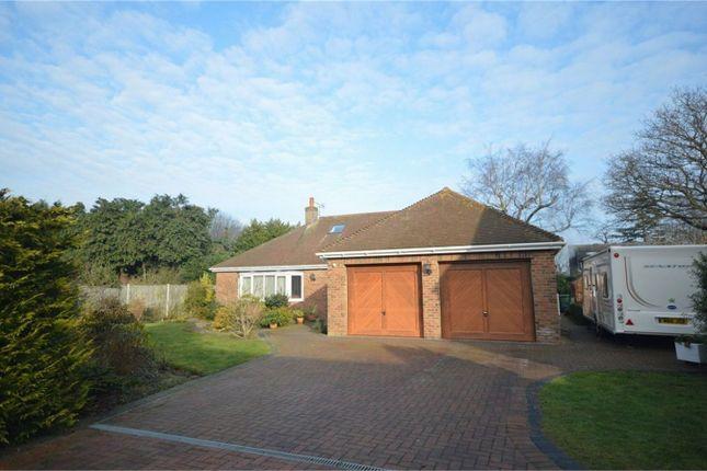 Thumbnail Detached bungalow for sale in Snowberry Close, Taverham, Norwich
