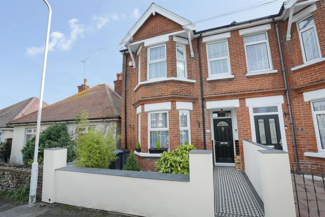 Thumbnail End terrace house for sale in Victoria Avenue, Westgate-On-Sea