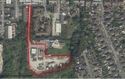 Thumbnail Land for sale in Land At, Ducie Place, Preston