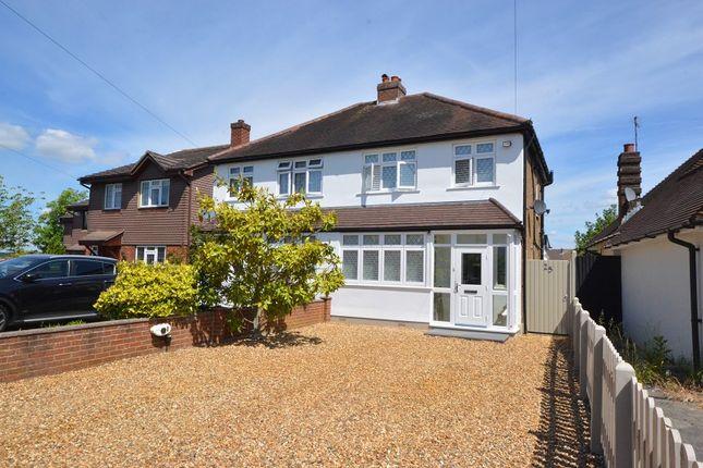Thumbnail Semi-detached house for sale in Ellingham Road, Chessington, Surrey.
