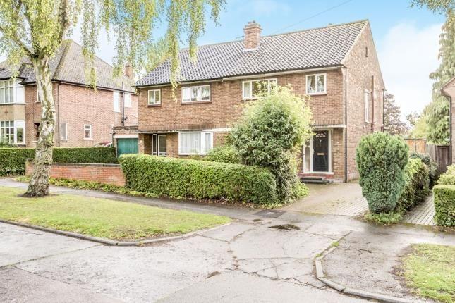 Thumbnail Semi-detached house for sale in Bowershott, Letchworth Garden City, Hertfordshire, England