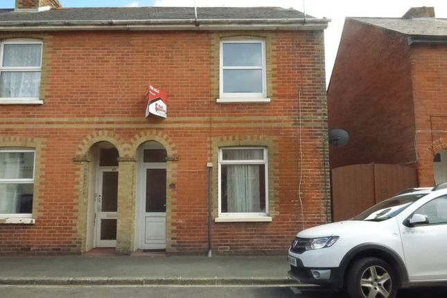 Thumbnail End terrace house to rent in Caesars Road, Newport