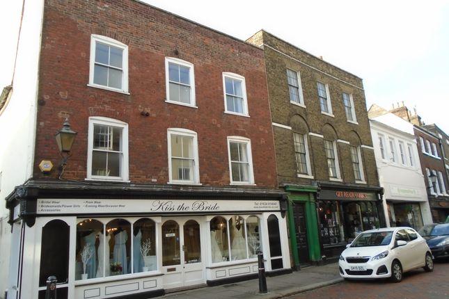 Thumbnail Maisonette to rent in High Street, Rochester