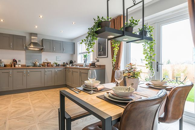 Thumbnail Detached house for sale in Off Winchester Road, Boorley Green