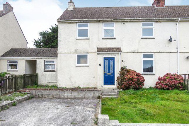 Thumbnail Semi-detached house for sale in Home Park, Landrake, Saltash