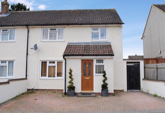 Thumbnail Semi-detached house to rent in Coronation Road, Bishop's Stortford