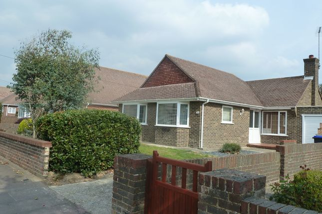 Thumbnail Detached bungalow to rent in Cowdray Drive, Goring By Sea, West Sussex