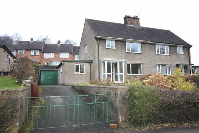 Thumbnail Semi-detached house for sale in 6, Bron Y Gaer, Llanfyllin, Powys