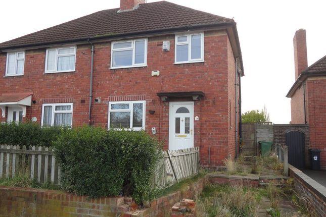 3 bed semi-detached house for sale in 14 Higgins Avenue, Bilston, West Midlands WV14