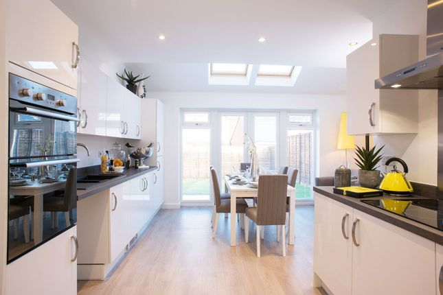 "Thumbnail Semi-detached house for sale in ""The Acton"" at High Street, Sandhurst"