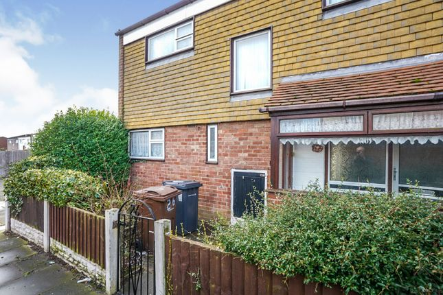 Thumbnail Terraced house for sale in Higher End Park, Bootle
