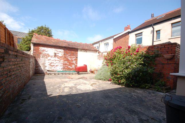 Garden of Glastonbury Avenue, Marton, Blackpool, Lancashire FY1