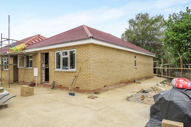 Thumbnail Detached bungalow for sale in Bakers Lane, Woodston, Peterborough