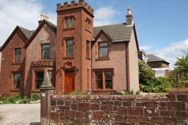 Thumbnail Detached house for sale in Skelmorlie Castle Road, Skelmorlie