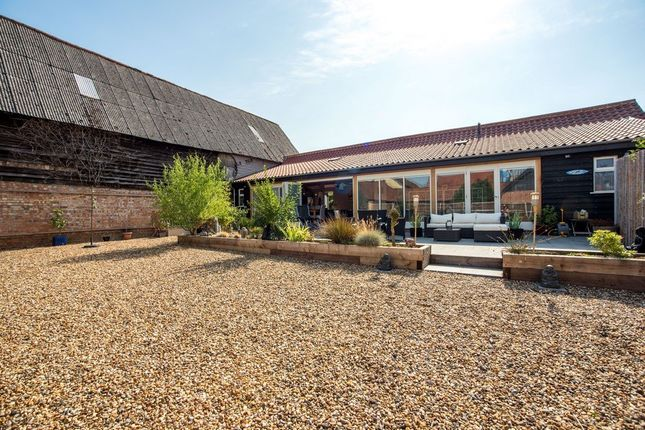 Thumbnail Barn conversion for sale in Chapel Road, Wattisfield, Diss, Suffolk