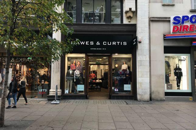 Thumbnail Retail premises to let in Oxford Street, 156 Oxford Street, London
