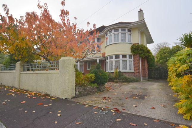 Thumbnail Detached house for sale in Branksome Dene Road, Bournemouth, Dorset