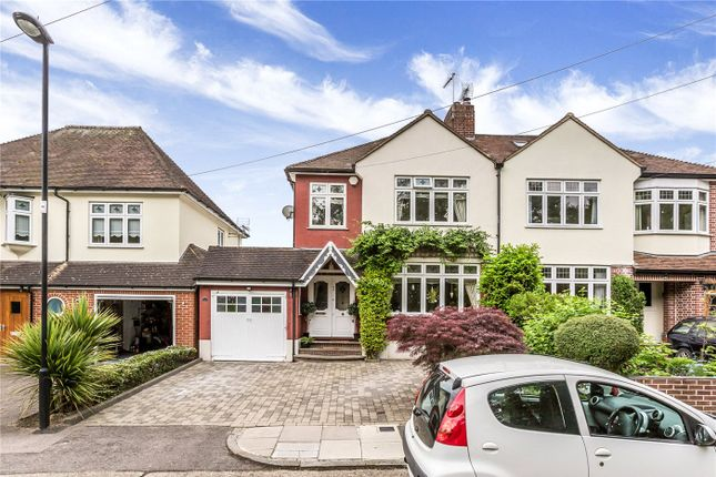 Thumbnail Semi-detached house for sale in Phipps Hatch Lane, Enfield