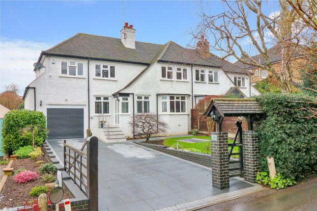 Thumbnail Semi-detached house for sale in Harthall Lane, Kings Langley