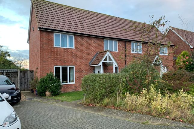 2 bed semi-detached house for sale in Norton Way, Framlingham IP13