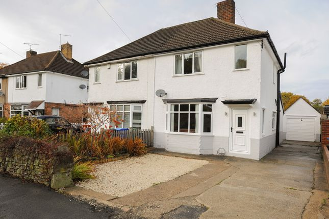 Thumbnail Semi-detached house for sale in Walton Back Lane, Walton, Chesterfield