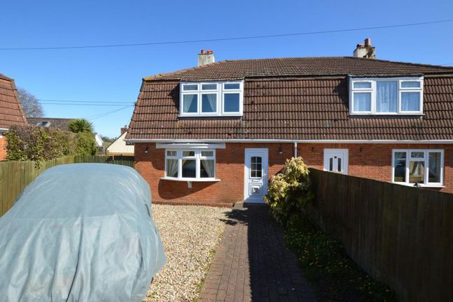Thumbnail Semi-detached house for sale in Crossways, Whitestone, Exeter, Devon