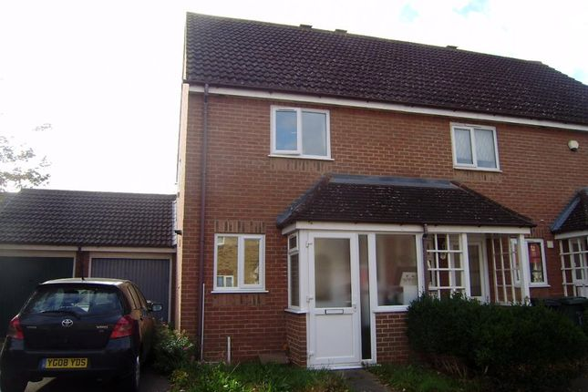 Thumbnail End terrace house to rent in Ottery Way, Didcot