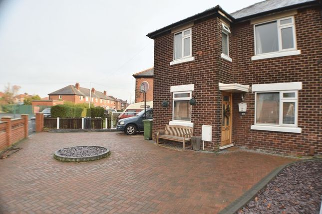 Thumbnail Semi-detached house for sale in Glastonbury Road, Stretford, Manchester