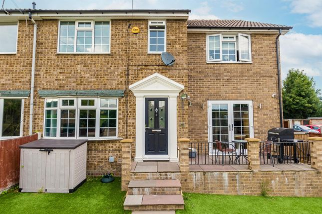 Thumbnail End terrace house for sale in Valley Road, Pudsey