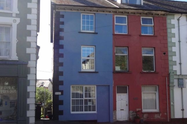 Thumbnail End terrace house for sale in Heol Y Doll, Machynlleth, Powys