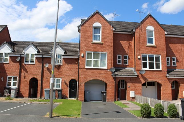 Thumbnail Town house to rent in Lambert Crescent, Kingsley Village, Nantwich, Cheshire