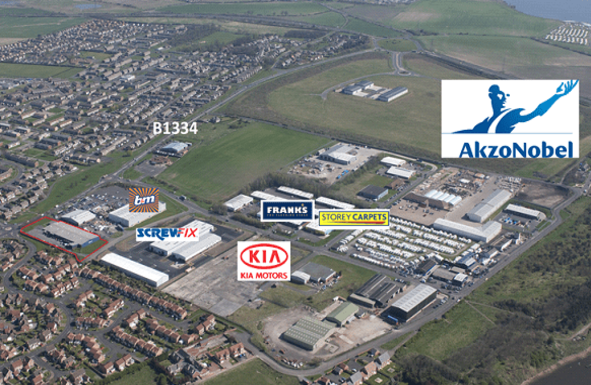 Thumbnail Industrial to let in Hedley Way, North Seaton Industrial Estate, Ashington