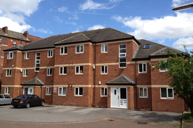 Building of Delph Lane, Hyde Park, Leeds LS6