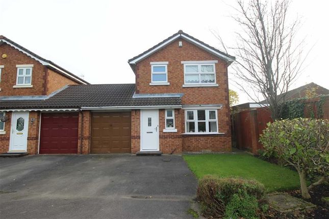 Thumbnail Link-detached house for sale in Askwith Road, Hindley Green, Wigan