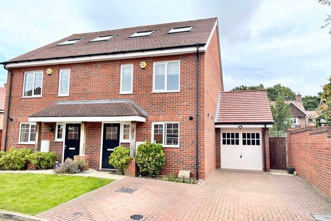Thumbnail Semi-detached house for sale in Fairway Close, Esher