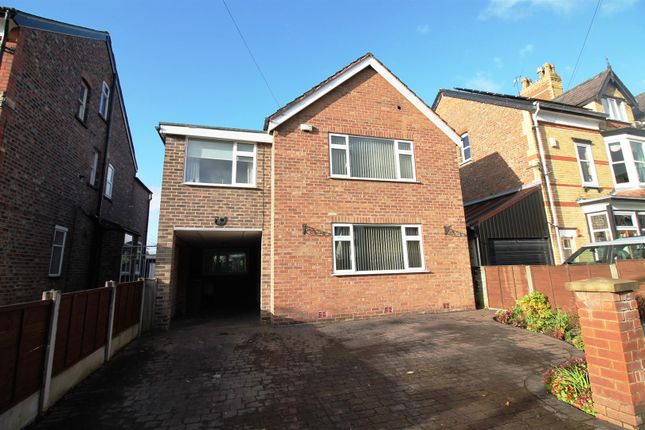 Thumbnail Detached house for sale in Queens Road, Urmston, Manchester