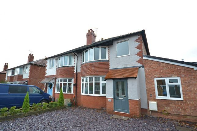 Thumbnail Semi-detached house for sale in Northgate Avenue, Macclesfield